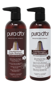 Pura D'OR Color Harmony Purple Shampoo and Conditioner