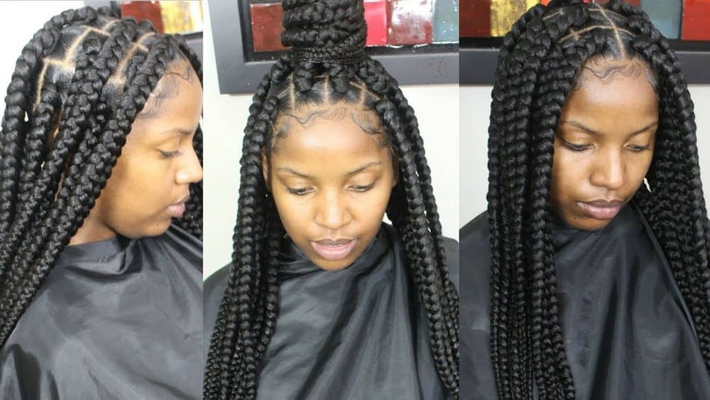 How many packs of hair for box braids