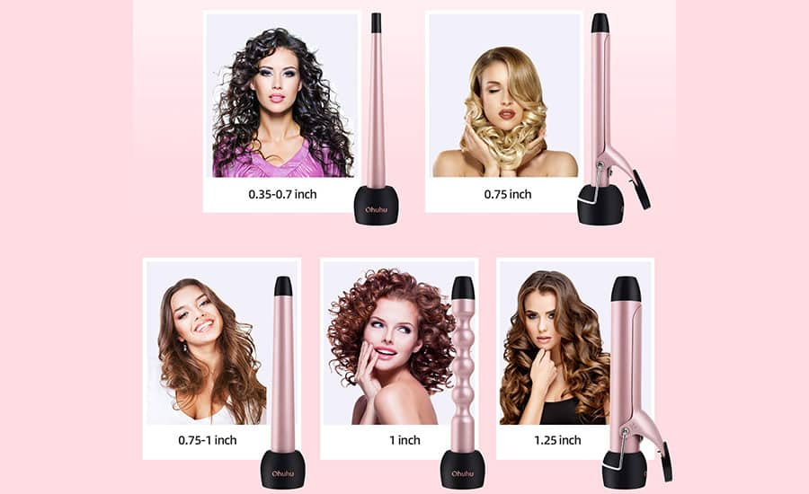 Best Interchangeable Curling Wands