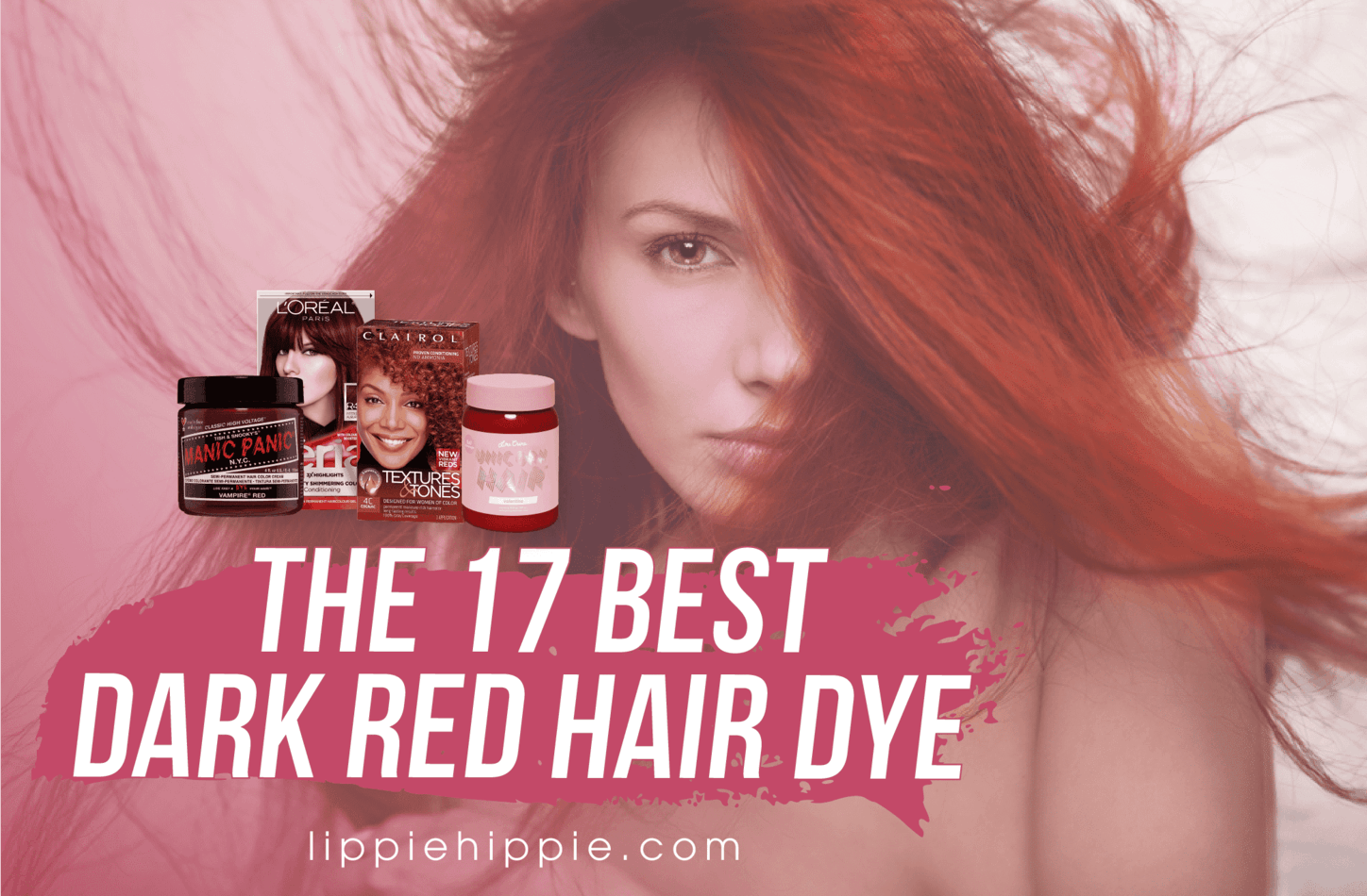 Best Dark Red Hair Dye